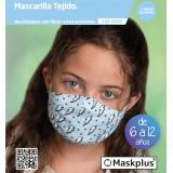 MASKPLUS 6-12 AÑOS RAYOS AZULES + 10 FILTROS